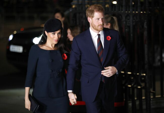4106af3f0ca Secret Photos Of Meghan Markle And Prince Harry At A Private Dinner ...