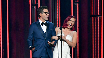 Bobby Bones - Bobby and Sharna Presented at The CMA Awards