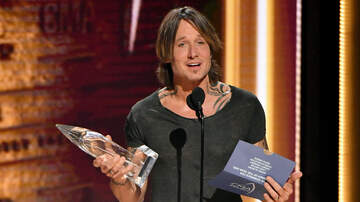 Kelly Sheehan - Keith Urban Overwhelmed By Big CMA Win