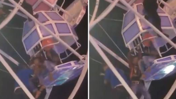 Chuck Dizzle - Ferris Wheel Malfunction Sends Family Tumbling Out Of The Ride!