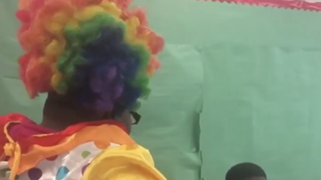 Chuck Dizzle - Mother Dresses Up As Clown In Son's Classroom For Acting Up In School