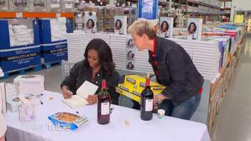Jeff McCartney - Ellen With Michelle Obama@Her Book Signing-Hilarious!