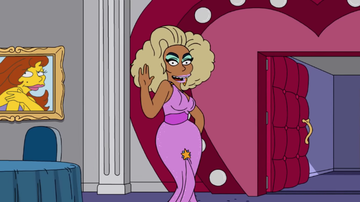iHeartPride - Here's Your First Look At RuPaul's Episode Of 'The Simpsons'
