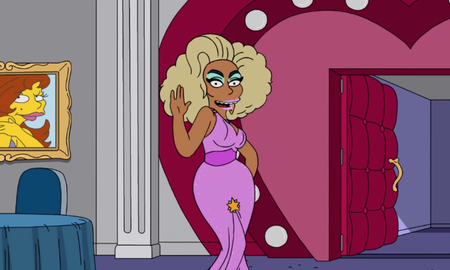 Entertainment News - Here's Your First Look At RuPaul's Episode Of 'The Simpsons'