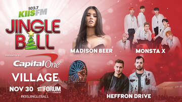 Jingle Ball - Our 2018 #KIISJingleBall Village Lineup Is Revealed!