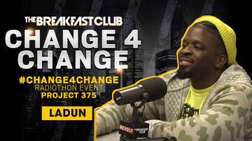 The Breakfast Club - Ladun Thompson Matches DJ Envy's Contribution To #Change4Change