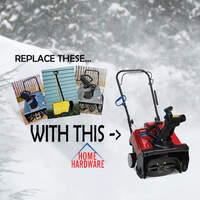 Win A Toro Snow Blower From Home Hardware! Sign Up To Win Here
