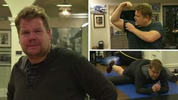 Klinger - James Corden Joins Mark Wahlberg For 3am Workout