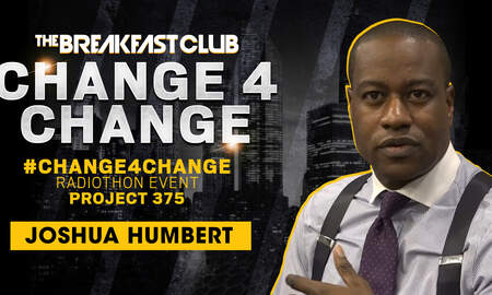 Breakfast Club Interviews - Joshua Humbert Is One Of Seven Black Men With A Masters In Philanthropy