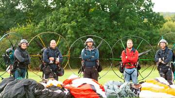 Corey & Patrick In The Morning - This Company's Employees Beat Rush Hour With a Jetpack