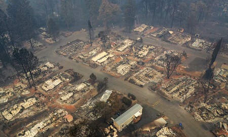 National News - Camp Fire Death Toll Rises to 63 Dead, More Than 600 Missing