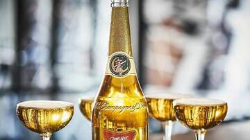 Hemmy - Miller High Life Introducing Champagne Beer Bottles for The Holidays