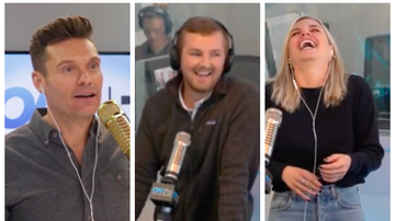 Ryan Seacrest - Tanya Rad Discovers Jared Goff's Roommate Works In the Building and OMG