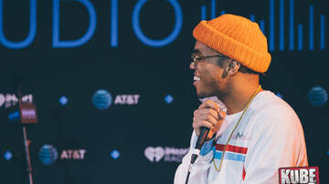 Photos - Anderson .Paak in the AT&T Sound Studio at KUBE 93.3