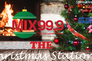 Mix 99.9 is Your Christmas Station, Listen Live 24/7