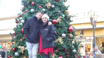 Photos - On Site for Santa's Arrival at the Asheville Outlets