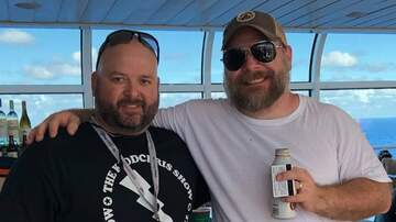 The KiddChris Show - Met Paul On My Family Cruise. He Was Wearing a KiddChris Show Shirt