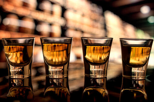 BOOZE: Study finds YOU drink more when it's COLD!