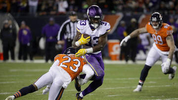 Vikings - Vikings' rushing attack shut down by Bears