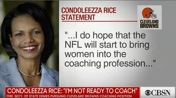 Paul and Al - Condoleezza Rice Will NOT Coach The Cleveland Browns