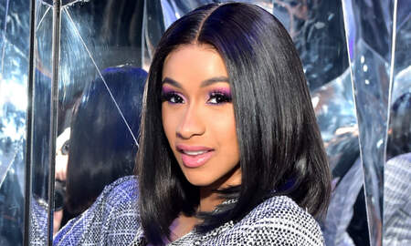 Trending - Cardi B Goes Topless After Revealing She's 'Depressed' About Post-Baby Body