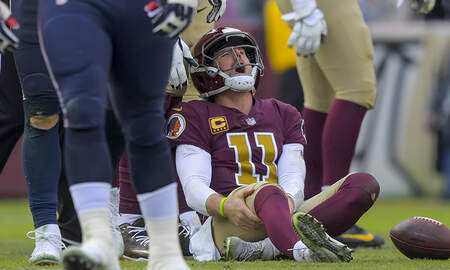 Sports Top Stories - Redskins Quarterback Alex Smith Out For The Year After Breaking Leg