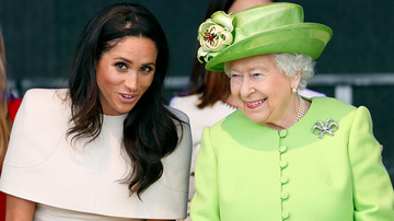 Trending - Queen Elizabeth Reportedly Isn't A Fan Of Meghan Markle's Hollywood Style