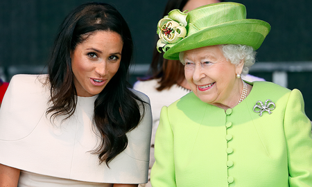 Music News - Queen Elizabeth Reportedly Isn't A Fan Of Meghan Markle's Hollywood Style