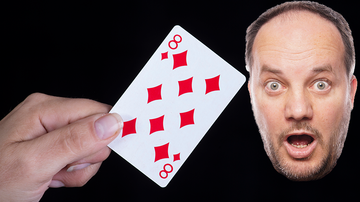 Entertainment News - Internet Shook By Discovery Of Hidden Symbol On 8 Of Diamonds Playing Card