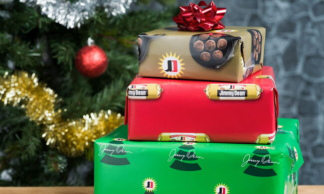 Jimmy Dean Is Selling Sausage-Scented Wrapping Paper