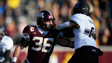 Gopher - Gophers' Cashman Named Big Ten Defensive Player of the Week
