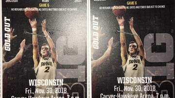 Mark Pitz - WIN Iowa-Wisconsin Basketball Tix from 800 KXIC!!!