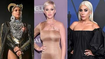 Jesse Lozano - Beyonce, Katy Perry & Lady Gaga Are Forbes' 'Highest Earning Women In Music