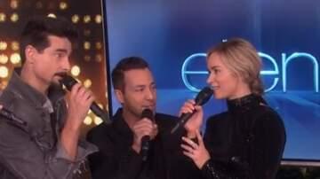 EJ - Watch: Emily Blunt Sings With The Backstreet Boys On Ellen