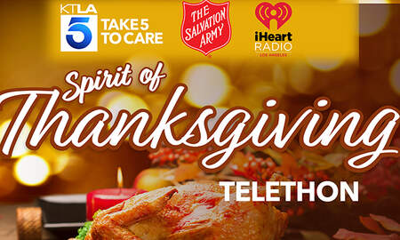 #iHeartSoCal - Join iHeartRadio and KTLA for the Spirit of Thanksgiving Telethon