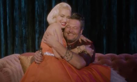 Trending - Gwen Stefani & Blake Shelton Cuddle Up In 'You Make It Feel Like Christmas'