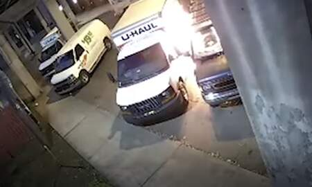 Weird News - Suspect Catches on Fire While Trying to Steal Gas From U-Haul Truck