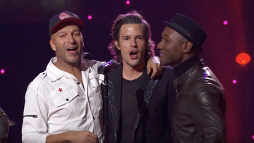 Entertainment News - Brandon Flowers, Tom Morello & More Sing 'All You Need Is Love': Watch