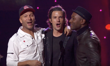 Music News - Brandon Flowers, Tom Morello & More Sing 'All You Need Is Love': Watch