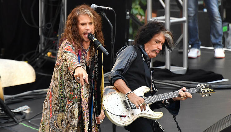Aerosmith's Joe Perry Cancels Solo Tour Following Health Scare