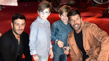 Entertainment News - Ricky Martin & Sons Get Creative To Raise Money For Hurricane Maria Victims