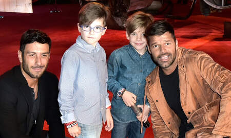 Music News - Ricky Martin & Sons Get Creative To Raise Money For Hurricane Maria Victims