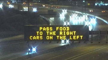 Suzette - ADOT Gives Phoenix Drivers The Best Thanksgiving Weekend Message