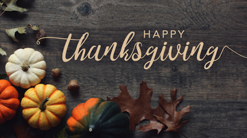 Jeanne Sparrow - Happy Thanksgiving! What Are You Thankful For?