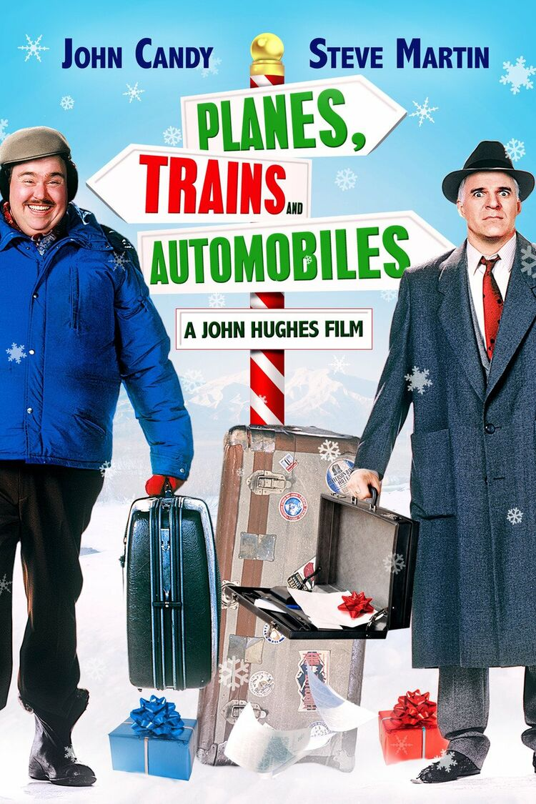 Planes, Trains, and Automobiles is not a christmas movie despite the new cover art