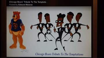 Glenn Cosby - VIDEO: The Temptations/Chicago Bears mash-up