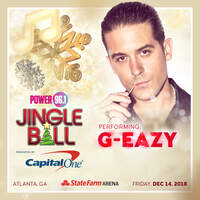 Meet G-Eazy At Jingle Ball!