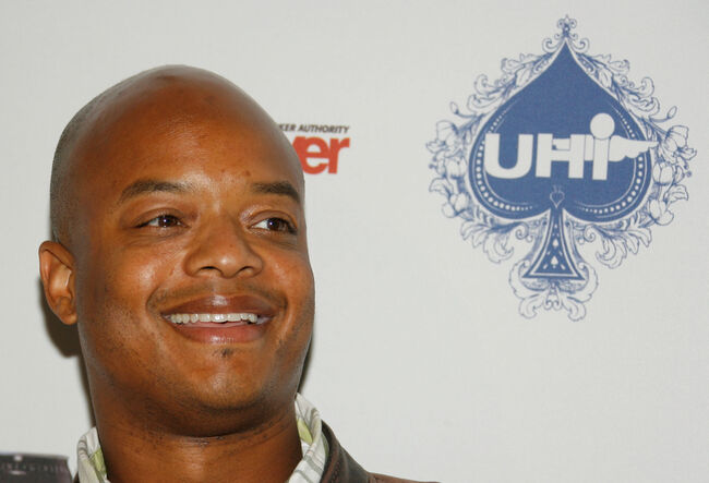 Urban Health Institutes Second Annual Celebrity Poker Tournament LOS ANGELES, CA - APRIL 28: Actor Todd Bridges poses for photographers at the Urban Health Institutes second annual celebrity poker championship held at the Playboy Mansion on April 28, 2007 in Los Angeles California. (Photo by Mark Davis/Getty Images)
