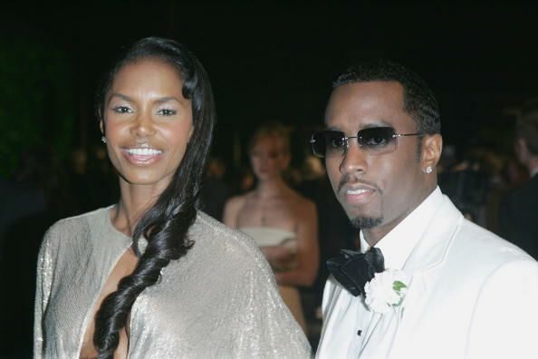 Vanity Fair Oscar Party WEST HOLLYWOOD, CA - FEBRUARY 27: Actress Kim Porter and Sean 'Puffy' Combs arrive at the Vanity Fair Oscar Party at Mortons on February 27, 2005 in West Hollywood, California. (Photo by Frazer Harrison/Getty Images)