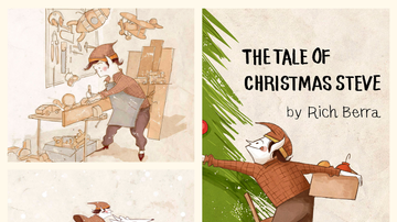 Suzette - Cyber Monday Deal: Get Rich Berra's The Tale Of Christmas Steve 20% Off